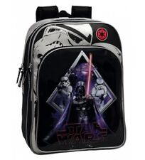 Star Wars - Mochila Escolar Adaptable A Carro Darth Vader doble c.. Niños