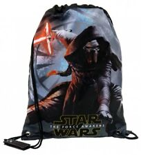 Star Wars - Mochila Saco Star Wars The Force Awakens negro -30x40cm- Niños