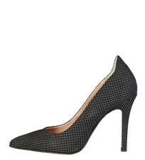 Pierre Cardin - Zapatos Lucile negro -Altura tacón: 10 cm- Mujer/chica 8 a 10cm