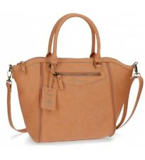 Pepe Jeans - Bolso tote Pepe Jeans Olivia Camel Cremalleras -42x3.. Mujer chica