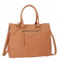 Pepe Jeans - Bolso de hombro Pepe Jeans Olivia Camel -31x36x13,5c.. Mujer chica