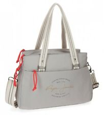 Pepe Jeans - Bolso tote Pepe Jeans Yoga Gris -34x24x14cm- Poliéster Mujer chica