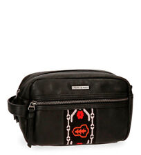 Pepe Jeans - Neceser Pepe Jeans Liza negro -15x23x12cm- Mujer/chica Polipiel