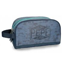 Pepe Jeans - Neceser Pepe Jeans Pierce doble compartimento adaptable a trolley