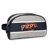 Pepe Jeans - Neceser Pepe Jeans Pierre doble compartimento adaptable a trolley