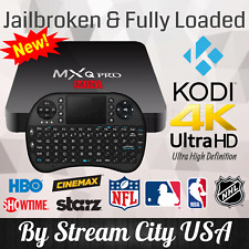 MXQ Pro 4K UHD + I8 Keyboard 64Bit Android 7.1 Quad Core Smart TV Box KODI 17.6