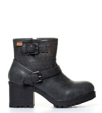 Mustang - Botines Cervere negro-Altura tacón: 6cm- Mujer/chica 5 a 8cm