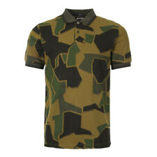 New Mens Fred Perry  Arktis Polo - Woodland Camo  Short sleeve  Collared