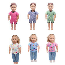 Casual Clothes Shirt Pants for 18inch American Girl Our Generation My Life Dolls