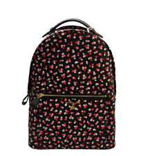 Michael Kors - Mochila Backpack negro, floral -30x42x13cm- Mujer chica