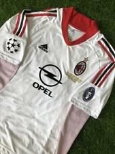 Milan Maglia Finale Champions Manchester 2003 vs Juventus Jersey Final Champions
