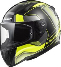Casco LS2 RAPID FF353 CARRERA Black H-V Yellow | Envío en 24H