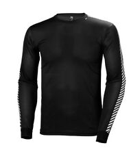 Helly Hansen - Camiseta HH Lifa Stripe Crew negro Hombre/chico Casual Outdoor