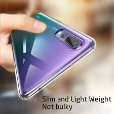 Shockproof Silicone Protective Clear TPU Cover Case Huawei P20 Pro P Smart Lite