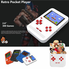 300 Games 2.6'' LCD screen Retro Gaming Console 8 bit FC Pocket handheld player