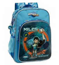 Disney & Friends - Mochila adaptable a carro Miles del Futuro Superstellar azul