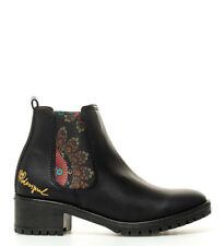 Desigual - Botines Charly Essentials negro -Altura tacón: 5 cm- Mujer/chica 3 a