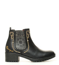 Desigual - Botines Charly Blackstud negro -Altura tacón: 5cm- Mujer/chica 1 a