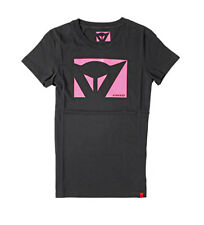 Dainese - Camiseta Color new Lady negro, fucsia Mujer/chica Rosa Algodón