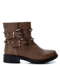 Refresh - Botas Say taupe Mujer/chica Marrón Plano 1 a 3cm Cremallera Casual