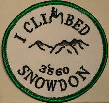 patches ,badges,Snowdon,Scafell Pike,Ben Nevis,Helvellyn,Mt Fuji,Embroidered