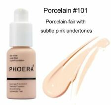 PHOERA Soft Matte Full Coverage Liquid Foundation Naturally Flawless Oil-control