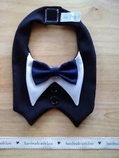Handmade Dog/Cat Tuxedo/Bowtie ~ S/M/L/XL/XXL ~ Wedding/Party/Ring Bearer