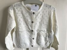 BNWT Next Cardigan. Girls. Cream. Age 12 Months - 6 Years.