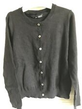 BNWOT Essential Next Cardigan. Girls. Black. Age 10 - 16 Years. Soft