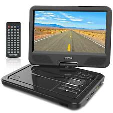 """12.5"""" Portable DVD Player 10.5 Inch Swivel Screen Built-in Rechargeable Battery"""