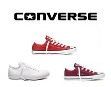 Converse Womens All Star Chuck Taylor Low Top Lace Up Trainers Sizes 3 - 8