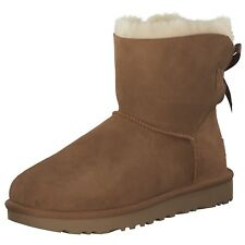 Ugg Mini Bailey Bow II Women's Boots Winter Boots 1016501 Brown New