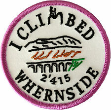 embroidered,patches,walking,climbing,mountain,3 peaks,wales,yorkshire, badge