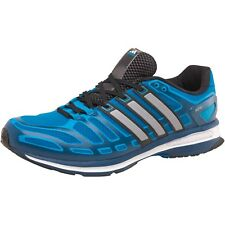 adidas Mens Sonic Boost Neutral Running Shoes Solar Blue/Grey/Black 10 UK
