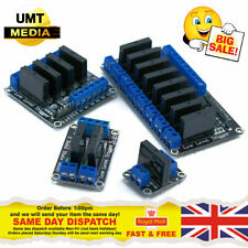 5V 1/2/4/8 Channel Solid State Relay Module Arduino Raspberry PI ARM AVR PIC