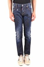 Dsquared Distressed Slim Fit Jeans Size IT44 UK28 RRP £360