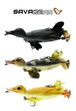 Savage Gear 3D Pato Flotante Topwater Swimbait Seleccionar Tamaño/Color