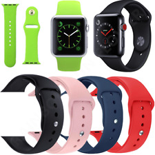 Replacement Band Silicone Sport Strap For Apple Watch iWatch Series 4 3 2 1 US