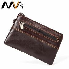 Coin Purse Men Genuine Leather Wallets Small Slim Wallet Credit Card Holder