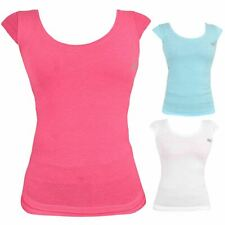 Ladies Skechers Stretchable Top Regular Quick Dry Gym Womens Cotton Sports Vest