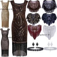 Evening Gowns Vintage Style Womens Dresses Gatsby 1920's Flapper Dress Plus Size