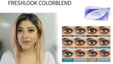 Color Lenses *Lentilles de couleur* 1 year Fresh (USA) 100% SATISFACTION