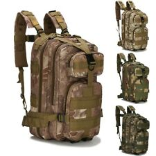 Military Tactical Backpack Large Army Hiking Camping Outdoor Out Bag 30-40L