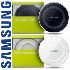 New Samsung QI Wireless Charger Charging Pad Plate Galaxy S6 +S7 Edge iPhone 8 X
