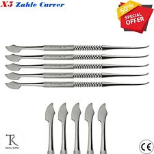 5 x Dental Laboratory Zahle Carver Sculpting Tool Max & Modelling Instruments CE
