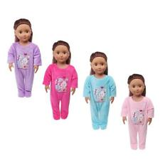 "Trendy Rompers Pajamas for 18"" American Girl Our Generation My Life Doll Clothes"