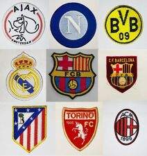 Football Clubs European Crest Logo Embroidered Iron on Sew On Brand Patch Sports