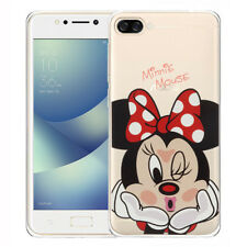 Silicona Funda Protectora de Móvil Cartoon Minnie Mouse para Asus Zenfone 4 Max