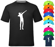 Kids T Shirt Dancer Dabbing T-Shirt Gamer Gaming Tee Top Childrens Boys Girls