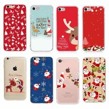 Christmas For apple iphone 6 case Santa Claus Cover For Iphone 7 8 Plus X 5 5s